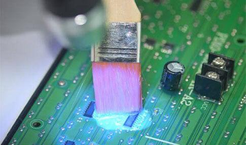 硅胶电子防潮塑料
